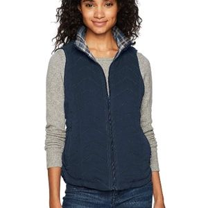 Unionbay Joanna Quilted Vest Navy Sz M